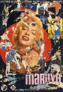 Mimmo Rotella Marilyn Monroe
