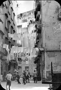 Strade di Roma nel dopoguerra