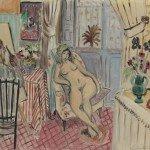 Henri Matisse - L'artiste et le modèle nu