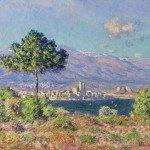 Claude Monet - Antibes, vue du Plateau Notre-Dame