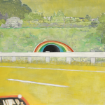 Peter Doig - Country-rock (wing-mirror)