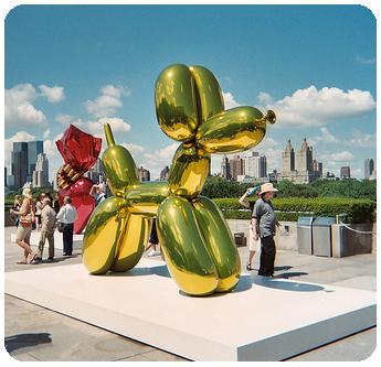 Jeff Koons - Balloon Dog yellow