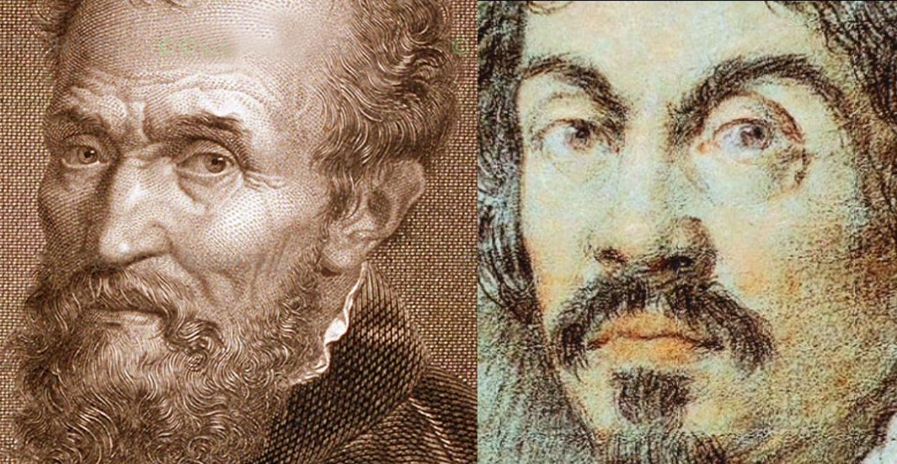 Michelangelo e Caravaggio
