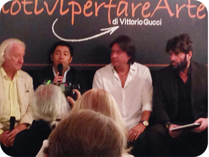 #26motiviperfarearte - Conferenza Stampa