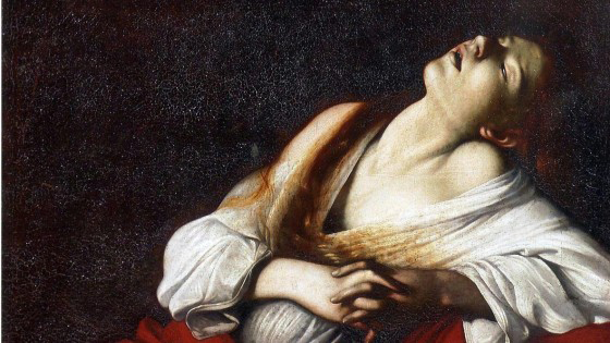Maddalena in estasi - Caravaggio
