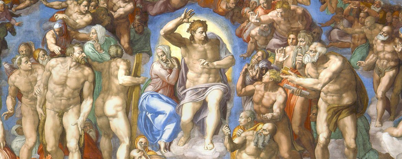 Il Giudizio Universale della Cappella Sistina di Michelangelo