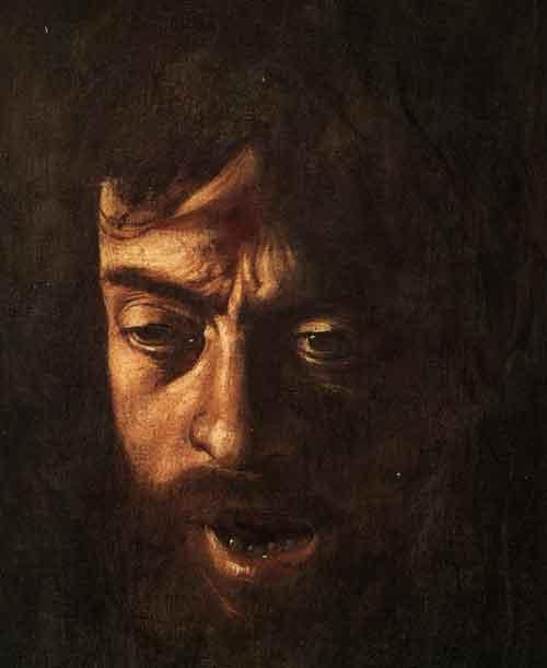 Testa di Golia di Caravaggio - Autoritratto