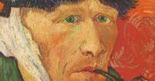 Van Gogh con orecchio mutilato