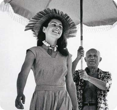 Picasso con Francoise Gilot