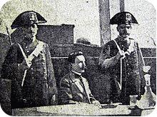 Vincenzo Peruggia al processo per il furto della Gioconda