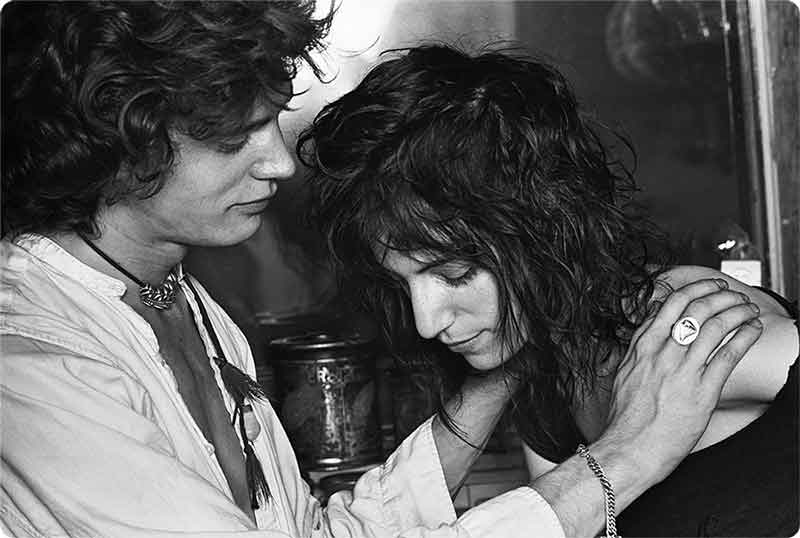 Robert Mupplethorpe e Patty Smith