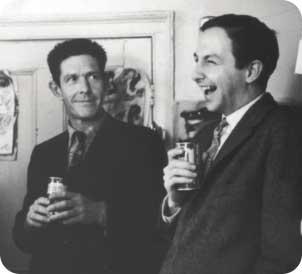 Robert Rauschemberg e John Cage