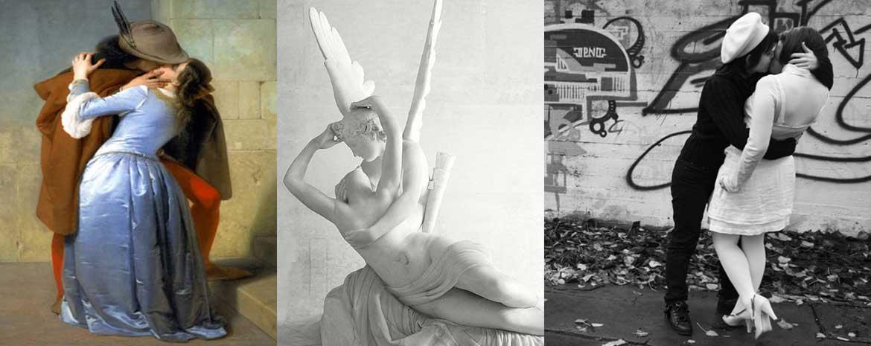 Arte e amore: baci della storia dell'arte