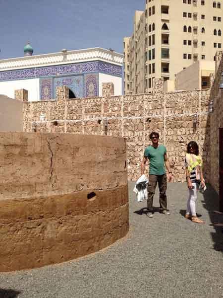 Tra i viicoli di Sharjah