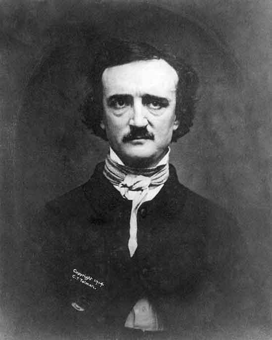 Ritratto fotografico di Edgar Allan Poe