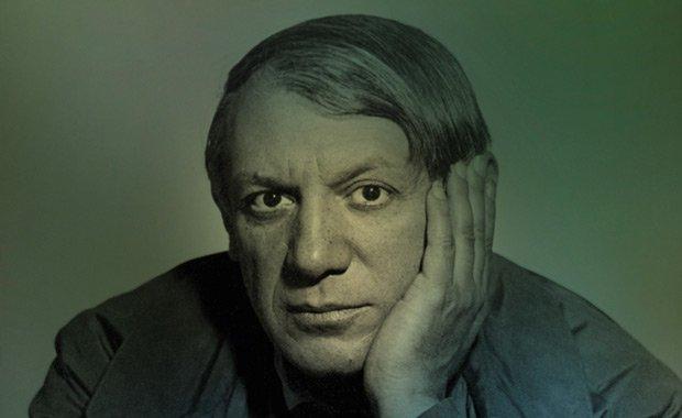 Foto di un Picasso giovane