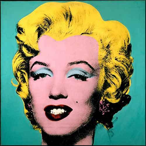 Marilyn Monroe di Andy Warhol
