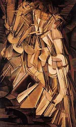 Marcel Duchamp - Nudo che scende le scale