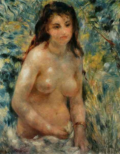 Pierre-Auguste Renoir - Torse effet de soleil