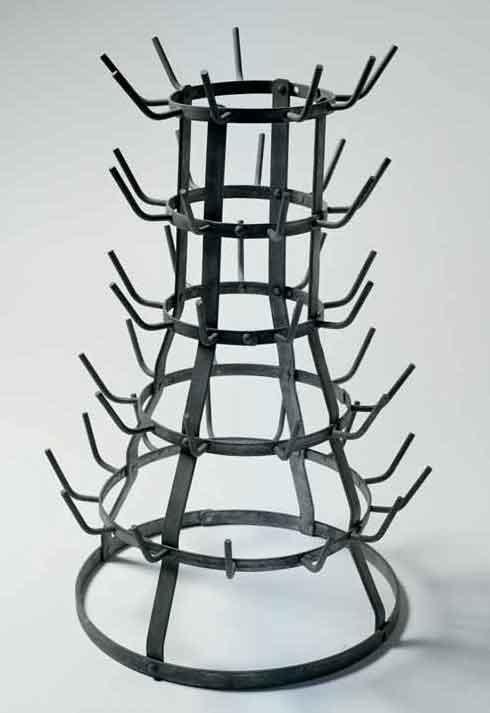 Scolabottiglie, ready made di Marcel Duchamp