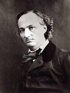 Charles Baudelaire fotografato da Felix Nadar