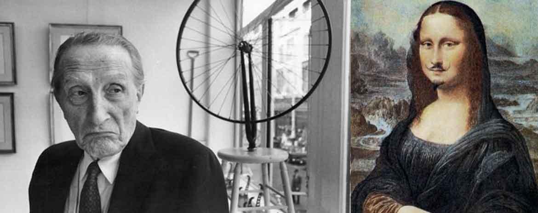 Marcel Duchamp fa una smorfia e la sua Monnalisa baffuta