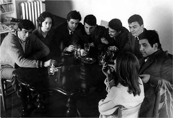 Renato Mambor, Giosetta Fioroni, Sergio Lombardo, Cesare Tacchi, Jannis Kounellis, Umberto Bignardi, Tano Festa
