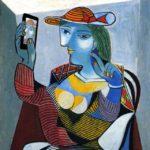 Selfie quadro di Picasso