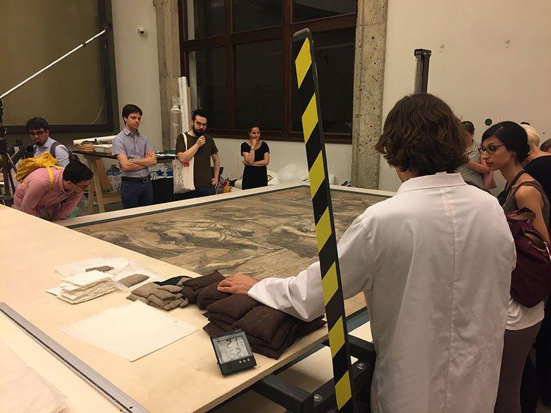 Maurizio Michelozzi coordinatore Maurizio Michelozzi restauro cartone di Raffaello