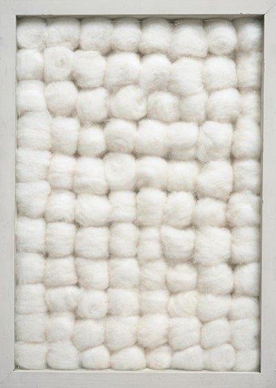 Achrome di cotone di Piero Manzoni del 1962