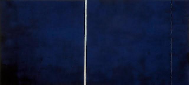Opera blu di Barnet Newman