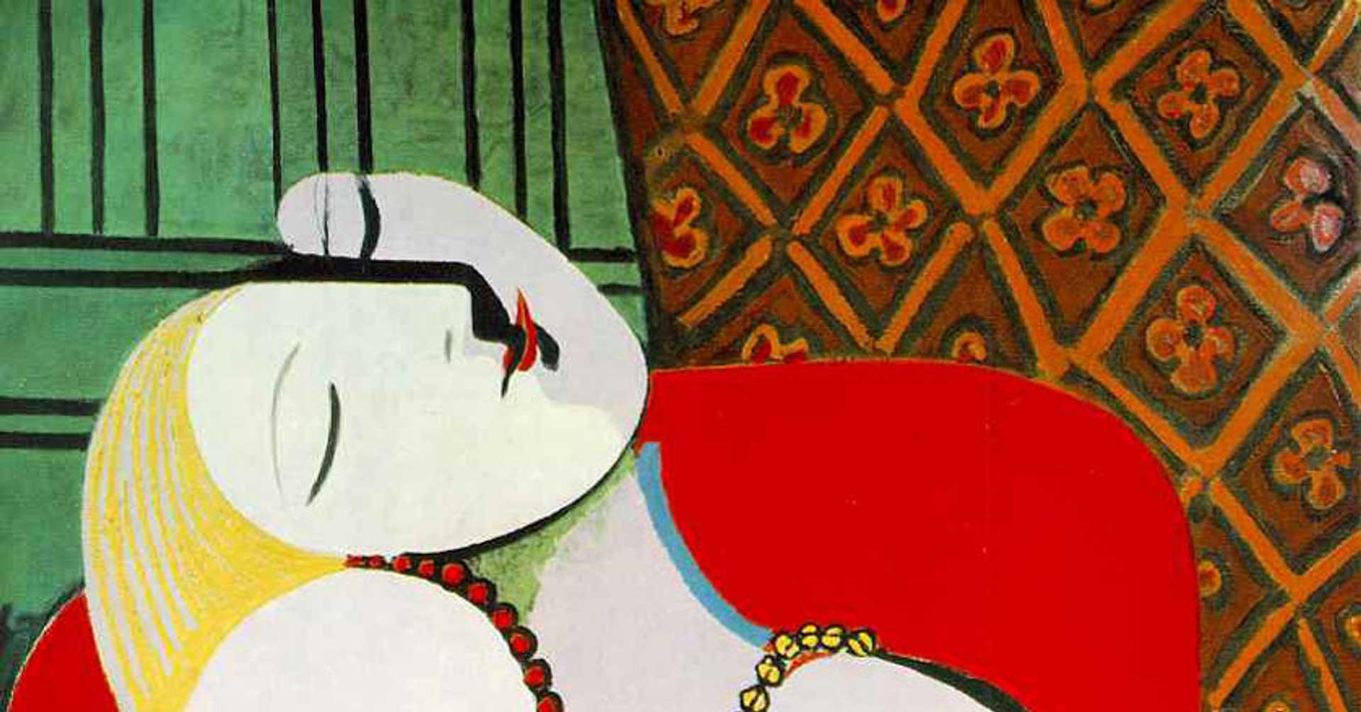 """Dettagli dell'opera """"Le Reve"""" di Pablo Picasso"""