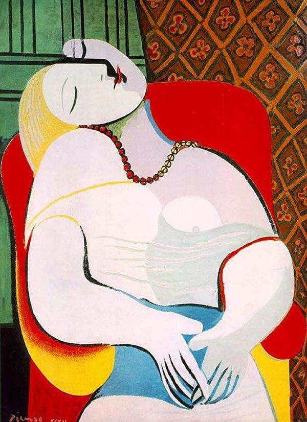 """""""Le Reve"""" opera di Pablo Picasso"""