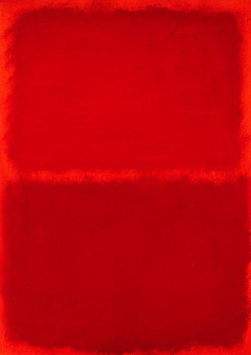 Opera rossa di Mark Rothko