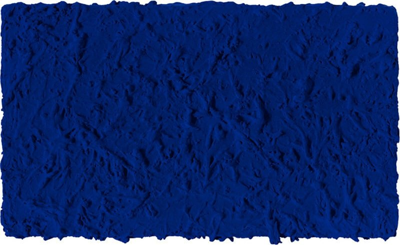 Monocromo Blu di Yves Klein del 1960