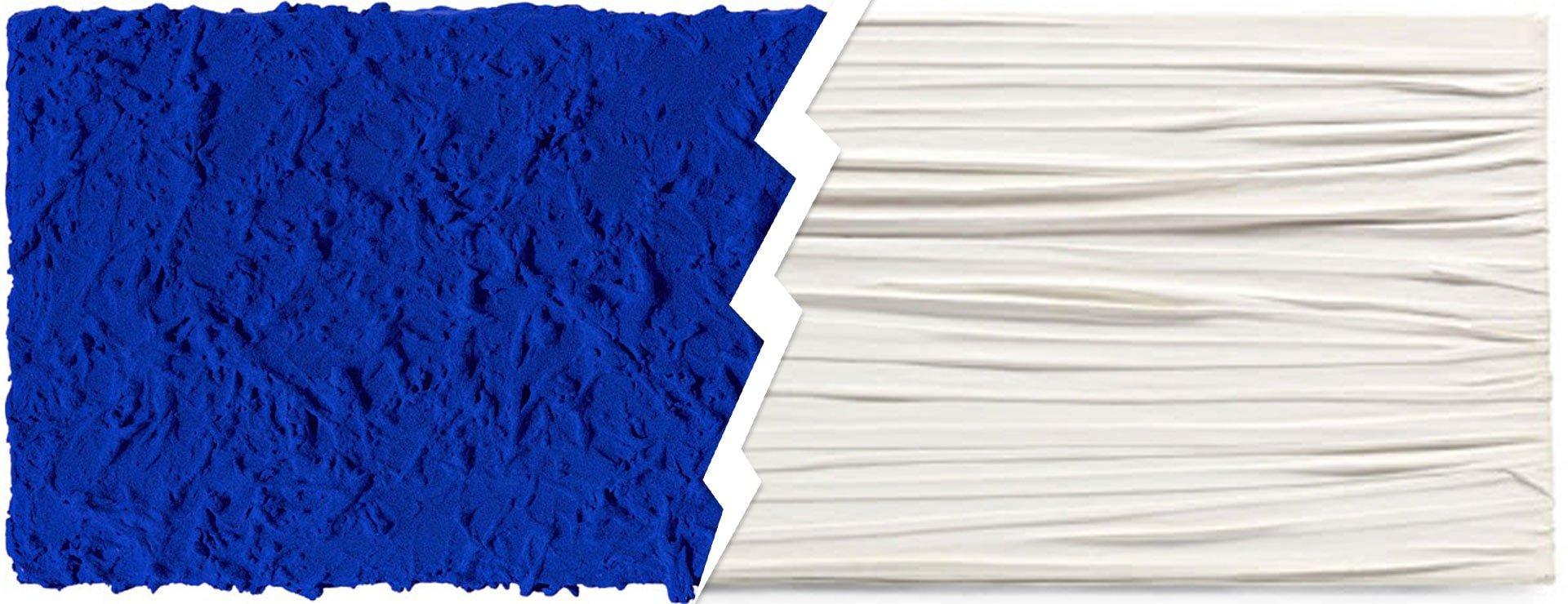 Monochrome di Yves Klein contro Achrome di Piero Manzoni