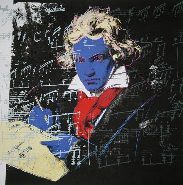 Beethoven: serigrafia Andy Warhol